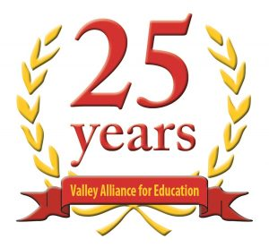 The VAE 25 Birthday logo.